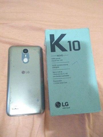 LG k10 32 GB 3 ram top demais barato 350  - Foto 3