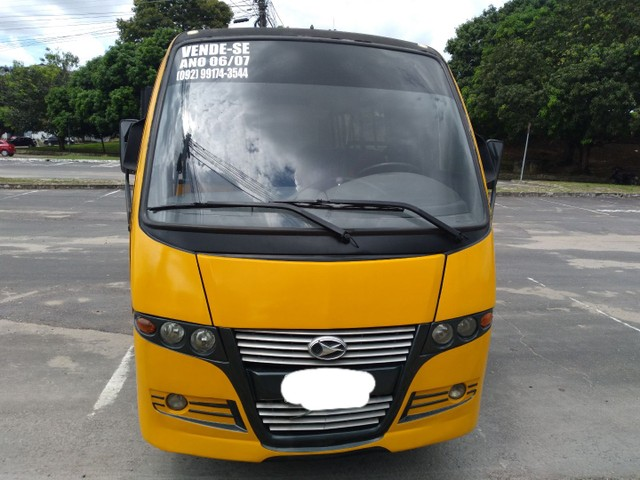 Micro ônibus volare v8 on com ar condicionado