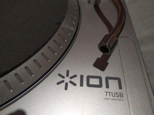 Vendo ou troco ion ttusb turnetable - Foto 4