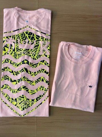 Camisas Malhão Osklen - Foto 5