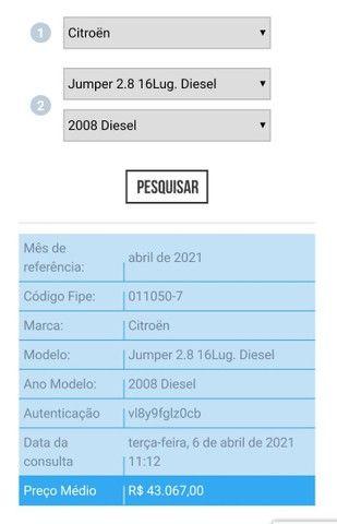 Citroën Jumper 2008 (abaixo da tabela) - Foto 6
