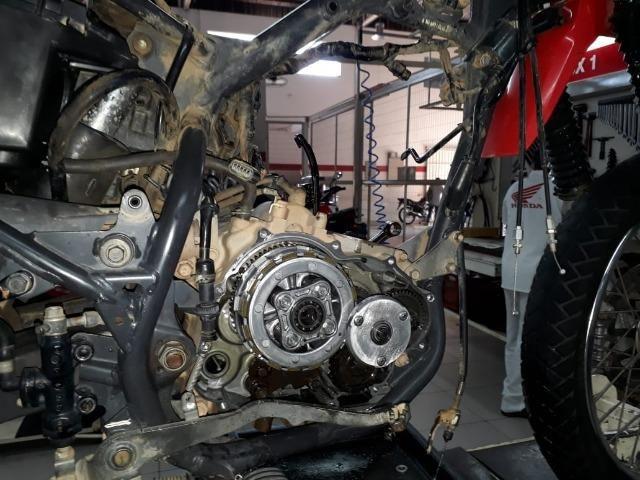 Motos Fazer o motor completo da Bros 150 e 160 R$ 250,00 (mão de obra)
