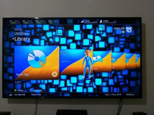 HD 500GB + Freestyle 3 + 65 jogos + 4 emuladores para XBOX 360 Desbloqueado  pelo HD RGH