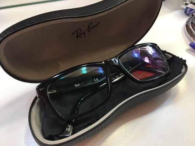 3b5a806ef Óculos de grau ray-ban preto - Bijouterias, relógios e acessórios ...