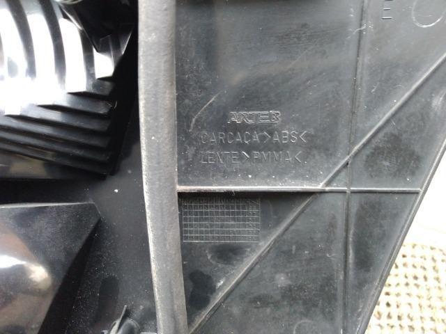 Tampa traseira + Lanternas Arteb + Aplique Moldura placa Santana G3 - Foto 4
