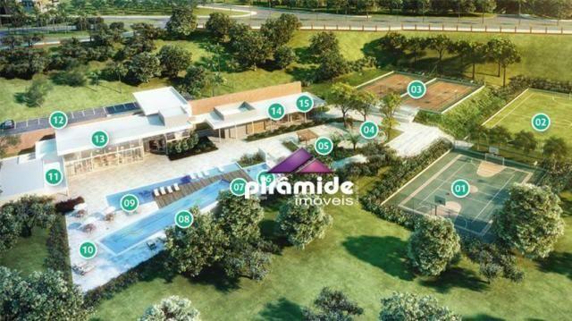 Terreno à venda, 600 m² por r$ 490.000,00 - condomínio residencial alphaville - são josé d