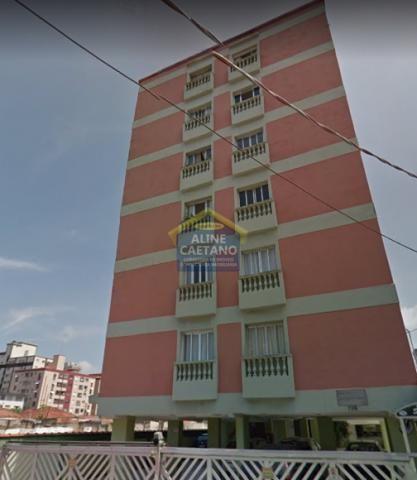 Apartamento à venda com 1 dormitórios em Boqueirão, Praia grande cod:AC4030