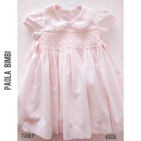 Vestido rosa Paola Bimbi