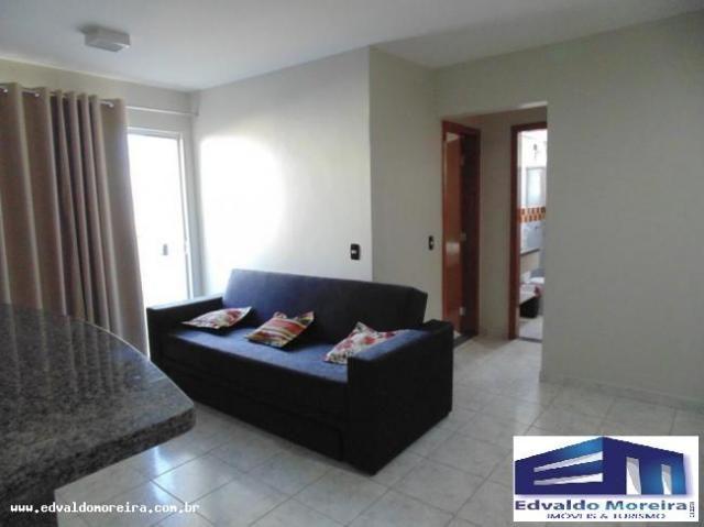 Apartamento 2 quartos para temporada em caldas novas, cezar park, 2 dormitórios, 1 banheir - Foto 19