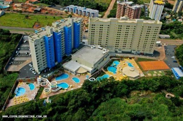 Apartamento 2 quartos para temporada em caldas novas, golden dolphin grand hotel, 2 dormit - Foto 7