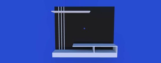 Moveis planejado. tamos na promoção de painel de TV. material alumínio composto - Foto 2