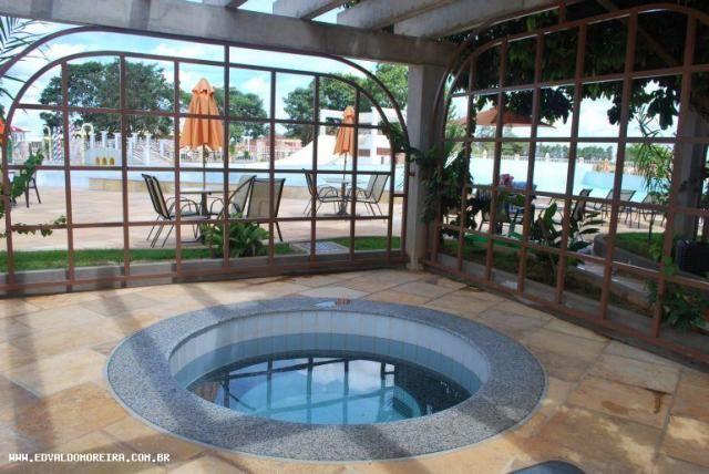 Apartamento 3 quartos para temporada em caldas novas, lacqua di roma, 3 dormitórios, 3 suí - Foto 12