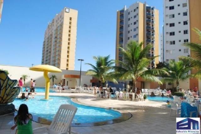 Apartamento 1 quarto para temporada em caldas novas, jardins das thermas, 1 dormitório, 1