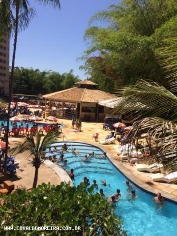 Apartamento 2 quartos para temporada em caldas novas, golden dolphin grand hotel, 2 dormit - Foto 17