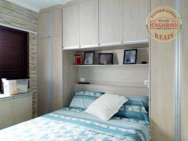 Apartamento com 2 dormitórios à venda, 89 m² por R$ 285.000 - Vila Tupi - Praia Grande/SP - Foto 10