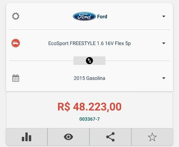 Ecosport Freestyle 1.6 , ano 15/15 , Com GNV 5°Ger, economia total - Foto 11