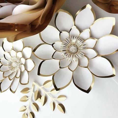 Fazemos flores de papel, nomes e desenhos - Foto 2