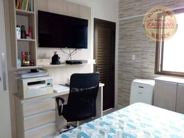Apartamento com 2 dormitórios à venda, 89 m² por R$ 285.000 - Vila Tupi - Praia Grande/SP - Foto 12