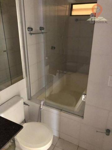 Apartamento com 1 dormitório à venda, 54 m² por R$ 220.000,00 - Jatiúca - Maceió/AL - Foto 7