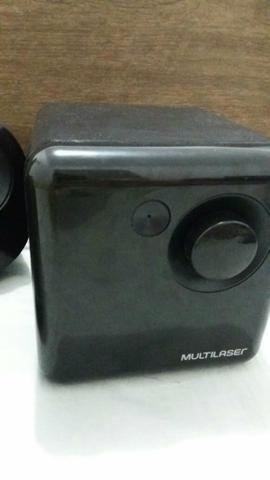Caixa de som USB da multilaser - Foto 2