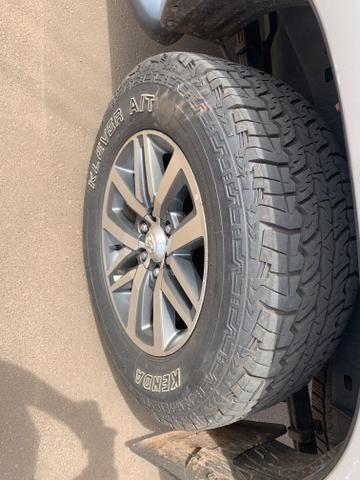 Rodas aro 18 Hilux SRX com pneus - Foto 2