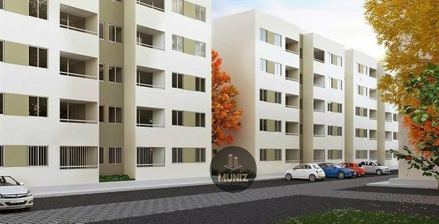 RS Apartamento, Candeias, Jaboatão, 2 quartos com Suíte, Varanda, Entrada Facilitada - Foto 9