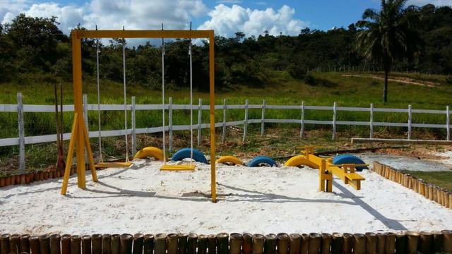 Sítio 8.000m², casa 6 suítes, lago, piscina, 600m BR-324, 22km Salvador - Foto 10