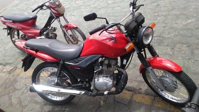 Fan 125 2012 + 2.000 Reais para trocar em moto mais nova.