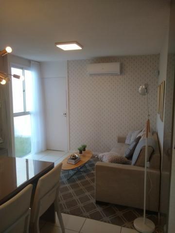 Apartamento com 2/4 e Lazer Completo na Região da Maraponga - ITBI + Registro Grátis - Foto 4