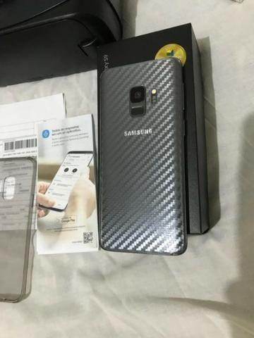 Samsung galaxy S9 + oculos gear vr tudo na caixa com nota fiscal + garantia - Foto 4
