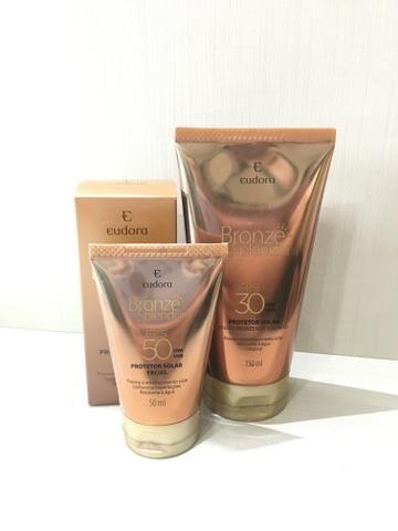 Protetor facial FPS 50 Bronze Splendor EUDORA - Beleza e saúde ... b5cb138279