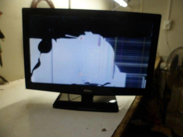 Placa principal tv philco ph24m usada original favor leia o anuncio - Foto 2