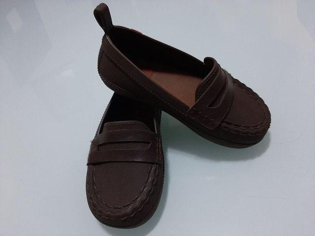 Sapatos Infantil menino 23 ao 25 *ACEITO CARTÃO* - Foto 3