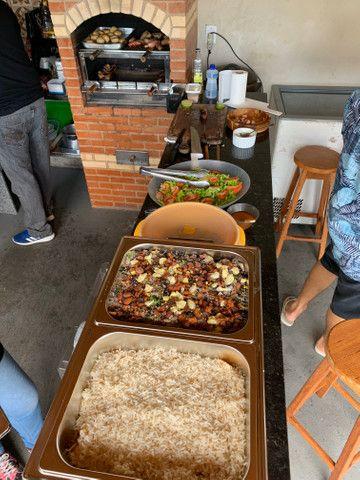 Churrasqueiro e buffet de churrasco - Foto 3