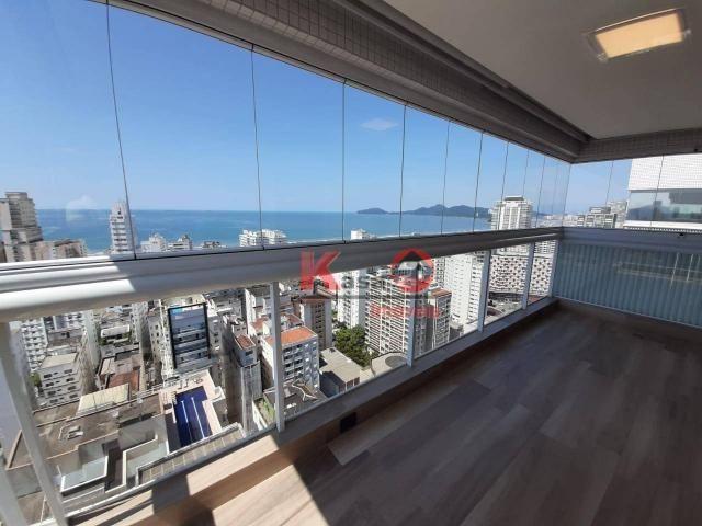 Cobertura com 4 dormitórios à venda, 410 m² por R$ 7.500.000,00 - Gonzaga - Santos/SP - Foto 3