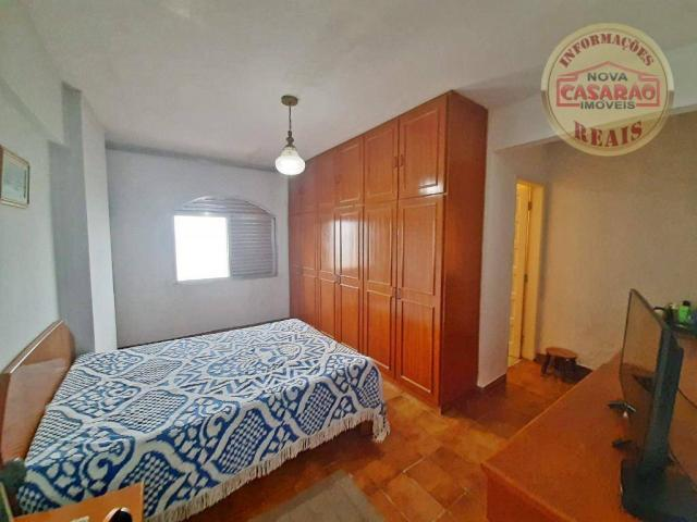 Apartamento com 3 dormitórios à venda, 115 m² por R$ 320.000 - Tupi - Praia Grande/SP - Foto 11