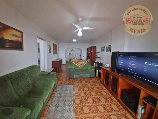 Apartamento com 3 dormitórios à venda, 115 m² por R$ 320.000 - Tupi - Praia Grande/SP - Foto 4