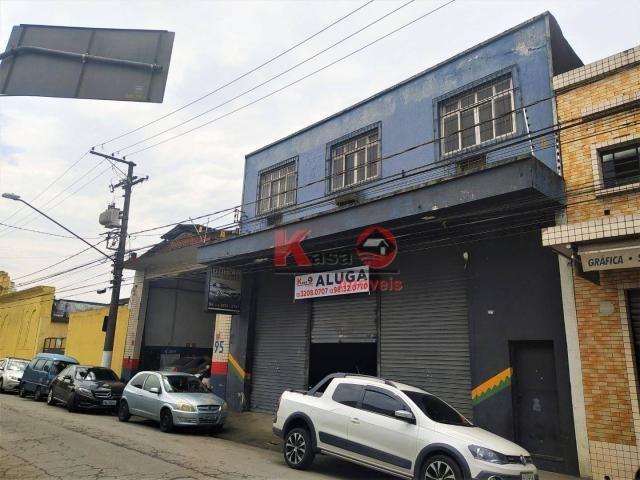 Galpão para alugar, 568 m² por R$ 10.000,00/mês - Paquetá - Santos/SP - Foto 3