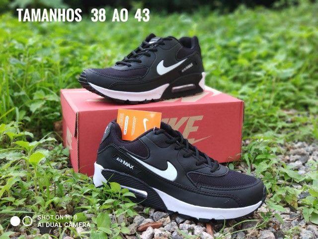 Tênis Nike Air M Novo Várias Cores - Foto 4