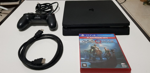 Sony PlayStation 4 Slim jet black 500gb CUH2015A - Foto 2