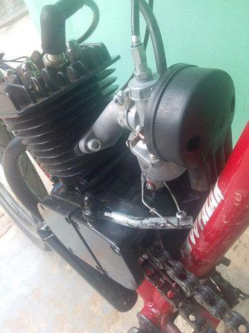 Bike motorizada 80cc Semi nova - Foto 6