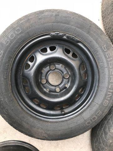 Roda + pneu 175/70/13 R$ 99 - Foto 5