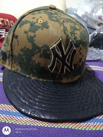 BONES CAP ORIGINAL NEW ERA NOVOS VARIOS MODELOS $120 CADA - Foto 5