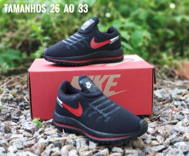 Tênis Infantil Nike Várias Cores Novo - Foto 2