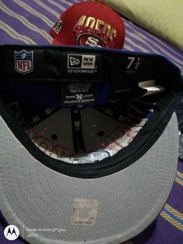 BONES CAP ORIGINAL NEW ERA NOVOS VARIOS MODELOS $120 CADA - Foto 2
