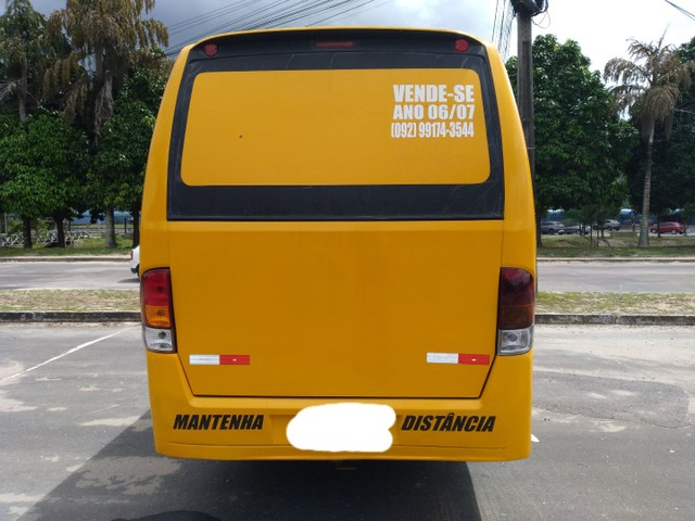 Micro ônibus volare v8 on com ar condicionado  - Foto 3