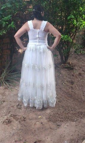 Vestido de noiva - usado apenas uma vez. - Foto 2