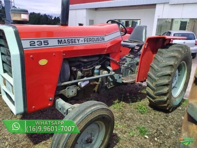 Trator Massey Ferguson 235 4x2 ano 79 - Foto 2