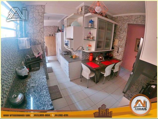 Apartamento à venda, 117 m² por R$ 370.000,00 - Vila União - Fortaleza/CE - Foto 5