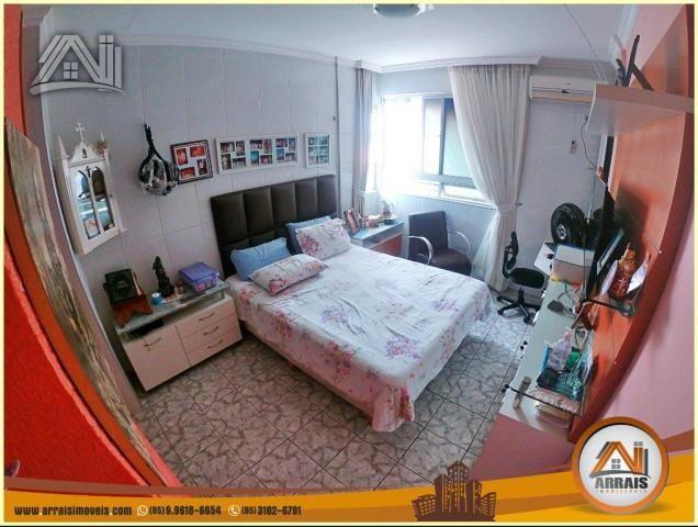 Apartamento à venda, 117 m² por R$ 370.000,00 - Vila União - Fortaleza/CE - Foto 12
